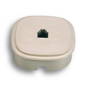 Presa da parete o incasso Fanton per 1 plug 6/4 c 22240
