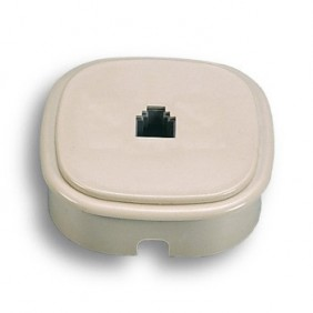 Wall outlet or recessed Fanton for 1 plug 6/4 c...