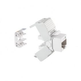 Vertical grip Fanton RJ45 UTP CAT.6 white with...