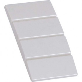 Cap Fanton socket covers for plates White 23956