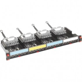 Patch panel Bticino with 4 empty blocks removable C9024C
