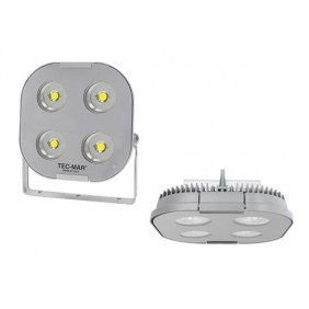 Proiettore Tecmar per esterni LED 230W 5000K Grigio 8032PS5230GL