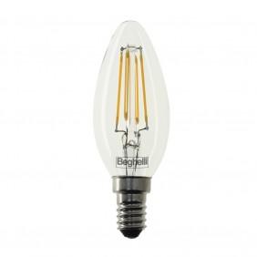 Lampada Oliva Beghelli Zafiro LED 4W E14 4000K 56178