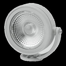 Lampada Goccia CLOCK Ø 120 mm LED 10W 3000K Grigia 4664GM3K