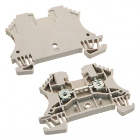 Abrazadera Weidmuller modular a través de-2,5 MMQ Beige 1020000000
