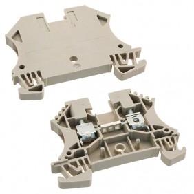 Abrazadera Weidmuller modular a través de-4MMQ Beige 1020100000