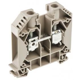 Abrazadera Weidmuller modular a través de-16MMQ Beige 1020400000