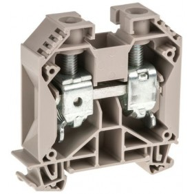 Clamp Weidmuller modular through-35MMQ Beige...