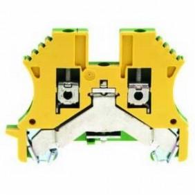 Morsetto Weidmuller componibile per conduttore protezione 2,5MMQ 1010000000