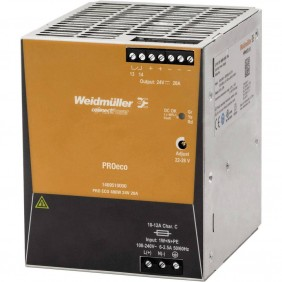 Alimentatore elettrico Weidmuller switching PRO ECO 480W 24V 1469510000