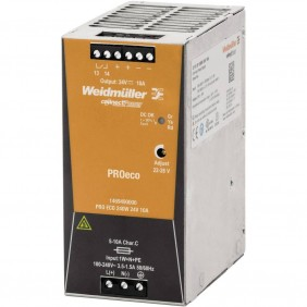 Alimentatore elettrico Weidmuller switching PRO ECO 240W 24V 1469490000