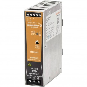Alimentatore elettrico Weidmuller switching PRO ECO 72W 24V 1469470000