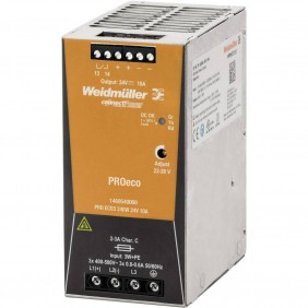Alimentatore elettrico Weidmuller switching PRO ECO 240W 24V 1469540000