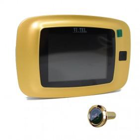 """Mirilla Digital.Tel. monitor de 3.2"""" de color Oro E399/40"""