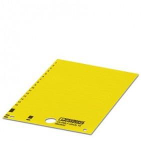 Etichetta Scheda Phoenix gialla US-EMLF (15X6) siglabile 0803832