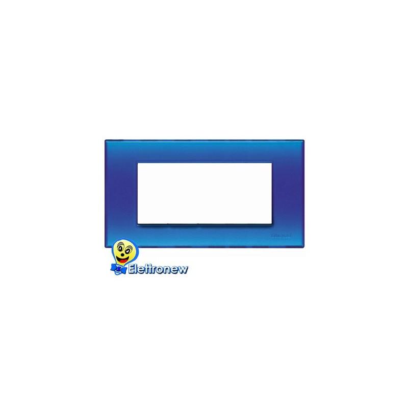 BTICINO LIGHT PLACCA 7 MODULI N4807BJ