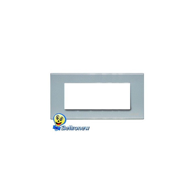 BTICINO LIGHT PLACCA 7 MODULI N4807AN