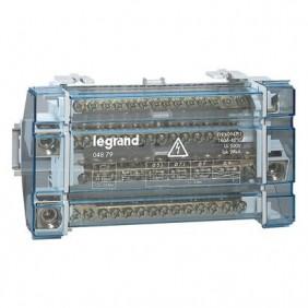 Bloque de terminales de tetrapolare Legrand 4P 160A 15-Hoyo 10 Formas 004879