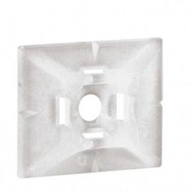 Soporte adhesivo Legrand COLRING incoloro 25x30x6 mm 032065