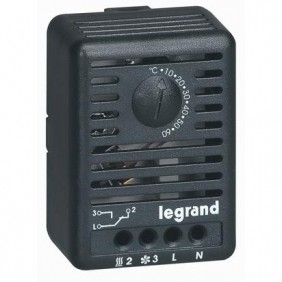 Termostato ambiente Legrand Altis regolabile da 5 a 60°C 034847