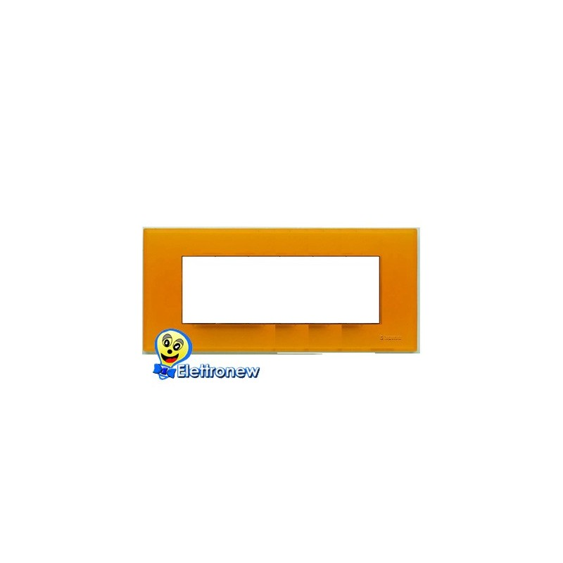 BTICINO LIGHT PLACCA 7 MODULI N4807AJ