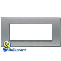 BTICINO LIGHT PLACCA 7 MODULI N4807AA