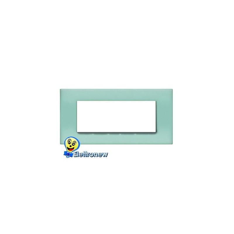 BTICINO LIGHT PLACCA 7 MODULI N4807VP