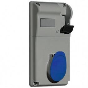 Presa interbloccata Legrand compatta 2P+T 2X32A+T 230V IP44 057209