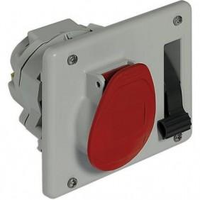 Presa interbloccata Legrand da pannello 3P+T 3X16A+T 400V IP44 057301