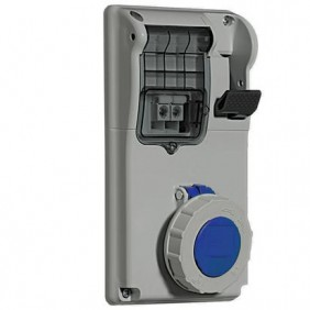 Enclavamiento del interruptor enchufe Legrand Endurecimiento 2P+T 2X16A+T 230V IP55 057314