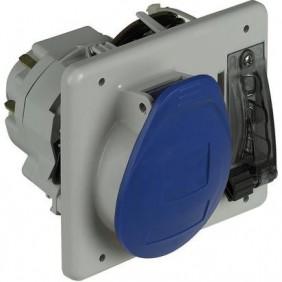 Enclavamiento del interruptor enchufe Legrand Tempra, panel 2P+e 2X16A+T 057320