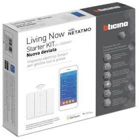 Kit de Bticino Starter Living Now en Nueva desviado de automatización del hogar K3000KIT