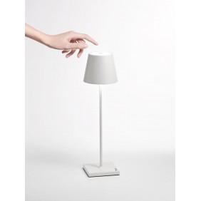 Lampada ricaricabile da tavolo Ailati POLDINA 111X380MM Bianca LD0280B3