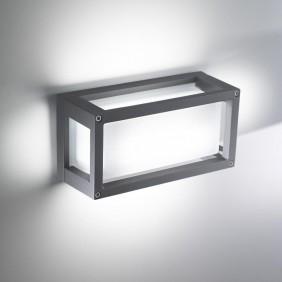 Lampada a soffitto e parete Ailati HOME 122X250X95MM Grigio LD0250G3