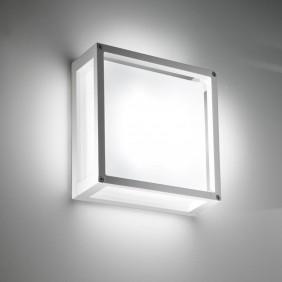 Lampada a soffitto e parete Ailati HOME 250X250X95MM Bianco LD0251B3