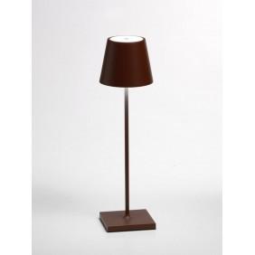 Lampada ricaricabile da tavolo Ailati POLDINA 111X380MM Corten LD0280R3