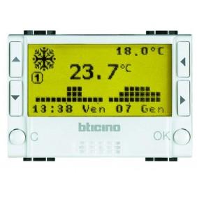 BTICINO LIVINGLIGHT CRONOTERMOSTATO N4451