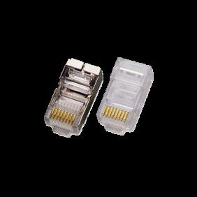Plug Item non schermato U/UTP 8/8c. RJ45 cat. 6  60151-00