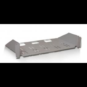 """Tablette fixe le Point 2 de l'unité de 20Kg 250mm armoire rack 19"""" Noir 20281N"""
