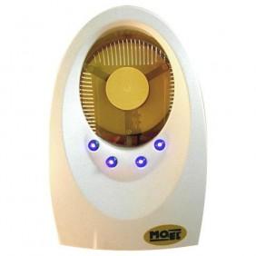 Mosquiteros con insecticida de Moel 3W enchufe con 4 led de color Blanco 7000B