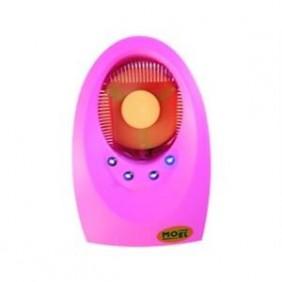 Mosquiteros con insecticida de Moel 3W enchufe con 4 led de luz de color Rosa 7000R