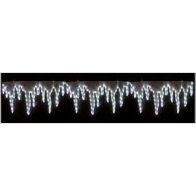 Stallattiti Natalizi LED lampeggianti bianco freddo 120 Luci F40465-P0
