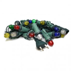 Luminarie Natalizie Led multicolor 20 Lampadine con 2 LED T26753L2ASS