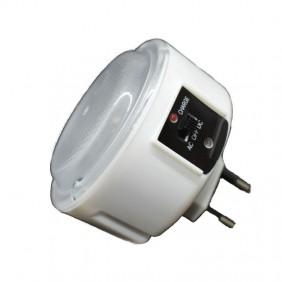 Minilampada Ricaricabile 3 LED con crepuscolare 220V H9004L