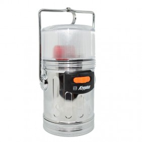 Lantern lamp for Camping color silver polished 1241