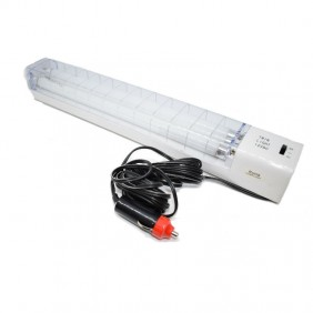 Fluorescent lamp portable 2X8W 12V with Car lighter 2653CW