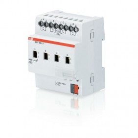 The output terminal of the ABB 4-channel 6A-SA/S KNXF0022