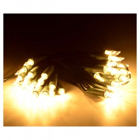 Serie Luci natalizie Wimex 50 Led a Pisello luce Warm 4501732