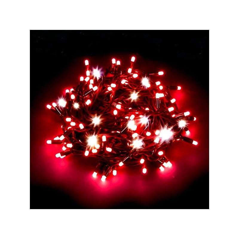 Immagini Luci Natalizie.Serie Luci Natalizie Wimex 40 Led Colore Rosso Cavo Trasparente 4501941x
