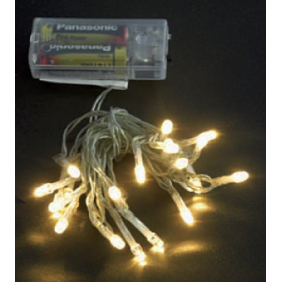 Serie Luci Natale Wimex con batteria 20 LED luce Bianca IP20 4501006